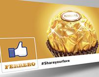 Ferrero Roshare - #Shareyourfave