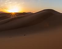 Sunrise in Sahara