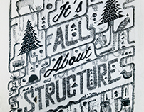 It's all about structure | Illustration