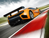 McLaren MP4-12C before and after