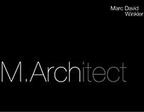 M.Arch Portfolio