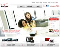 Verizon FiOS - Website