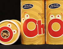 Oh's! Cereal - Packaging