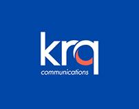 Logo design for KRQ Communications