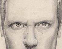 Dr.House Portrait