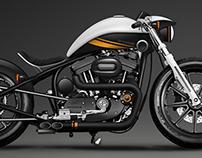 DPC  INVADER for DP Customs bike design challenge 2013