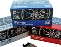 C-Plus Brake Pad Packaging