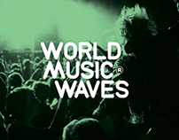 World Music Waves identity