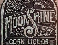 Aldo's Tennessee Moonshine Corn Liquor