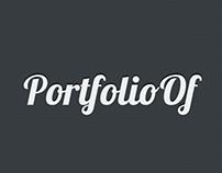 PortfolioOf - Mobile App