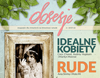 Obsesje (Obsessions) - Magazine Cover (2/2013)