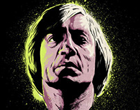 """No Country For Old Men """"Neon Death"""" Poster"""