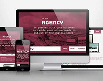 AGENCY / RESPONSIVE WEB DESIGN
