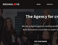 DesignLove website design