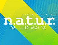 Designstudio Steinert – Festival n.a.t.u.r. 2013