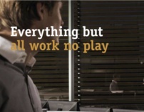 'Everything but...' Online & print recruitment campaign