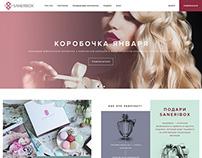 Beauty box website