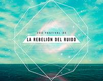 Poster Design - La Rebelión Del Ruido 2do Festival