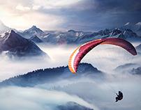 Raiffeisen bank — Mountain