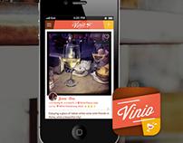 Vinio app