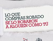 NO COMPRES ROBADO/ GOB CHILE