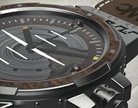 Lancaster MKX/Night Raid watch design