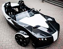 Epic Torq 3 wheeled roadster