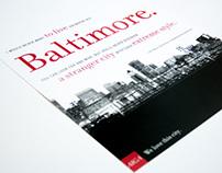AIGA Baltimore Poster
