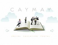Caymay. Website design.