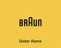 Dieter Rams | Illustrations