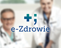 """e- Health"" Healthcare Informatisation - logo"