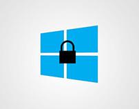 Windows Mobile Lock Design