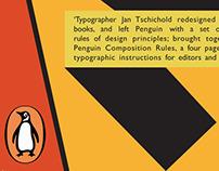 Typography Posters – Jan Tschichold