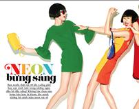 Cosmopolitan Fashion Spread
