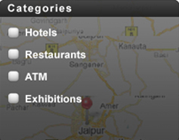 Travel Guide with VT & RT features, iPhone Application