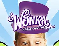 Wonka Candy Advertisement Poster