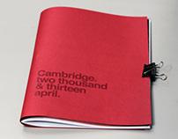Cambridge 2013/april magazine.