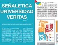 Señaletica Universidad Veritas/Universidad Veritas Sign