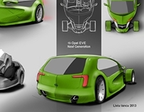 Design for Opel EVE competition
