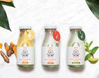 Label design for Jeeva King Coconut Water