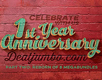 Dealjumbo celebrates 1st birthday! 2nd Giveaway!