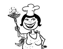 Mascot Berta