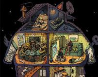 doggie-cat house