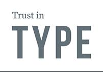 Trust In Type