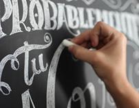 Bonafide Typographical Advertisements