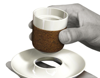 corkware - expresso cup