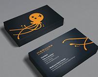 Visual Brand Identity Design for Meduusa Game Studio