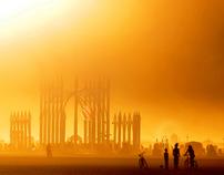 Elements of antiquity Burning Man