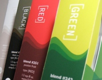 Package Design: Tea Drops