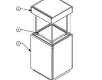 Pedestal Case